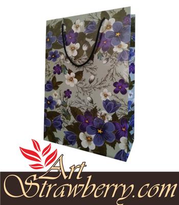 paperbag motif bunga