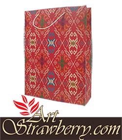 paperbag motif tenun